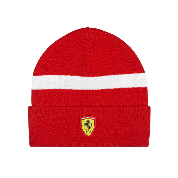 2017 Scuderia Ferrari F1 Team Knitted Beanie Red