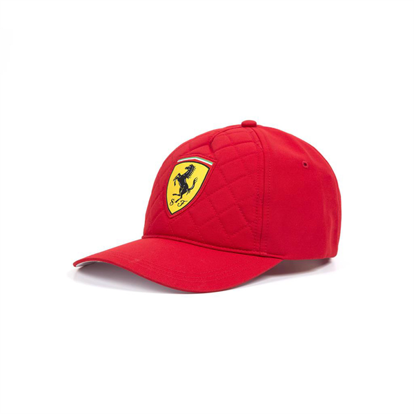 2018 Ferrari F1 Team Quilt Baseball Cap Red