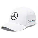 Mercedes AMG Petronas team caps white