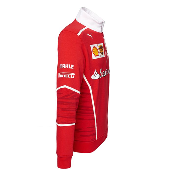 28cf547dfdd4 SCUDERIA FERRARI TEAM HALF ZIP FLEECE 2017